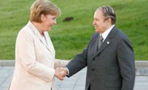 Angela Merkel salue l'apport de l'Algérie dans la résolutions des crises