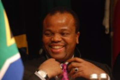 King Mswati - one of Africa's last executive monarchs - is being blamed for the current financial crisis.