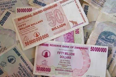 Zimbabwe's worthless currency