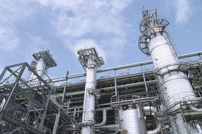 L'usine GNL au Nigeria