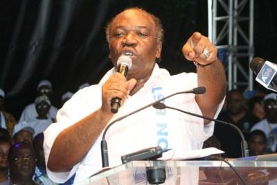 Gabon, Ali Bongo Ondimba candidat du Parti Démocratique Gabonais (PDG) à l'élection présidentielle du 30 Aout.