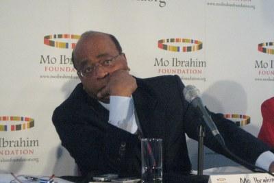 Mo Ibrahim, fondateur et président de la Fondation Mo Ibrahim. La Fondation Mo Ibrahim s'est engagée à soutenir un grand leadership africain qui améliorera les perspectives économiques et sociales des populations africaines.
