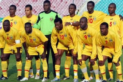 L'Equipe nationale du Togo