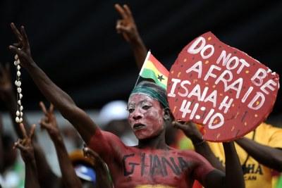 Ghana soccer fans