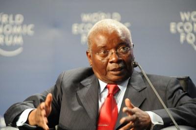 Armando Emilio Guebuza President of Mozambique (file photo).