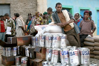Food aid (file photo).