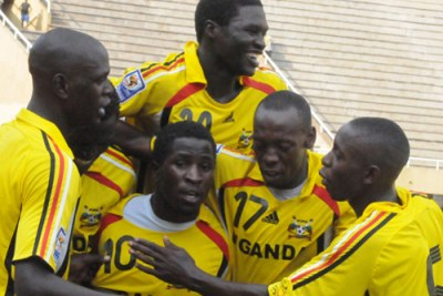 Uganda Cranes at the 2009 Cecafa Cup.