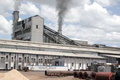 The Mumias power plant (file photo).
