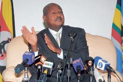 President Yoweri Museveni.