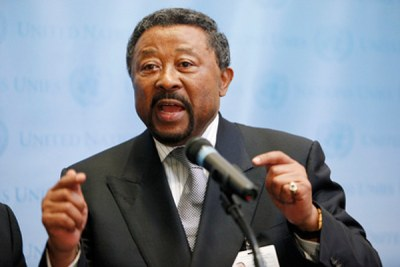 Jean Ping, chairperson of the AU Commission.