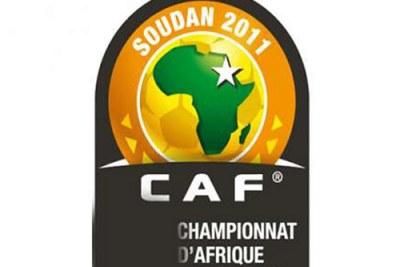 Le Logo du Championnat d'Afrique des nations (Chan) 2011 au Soudan