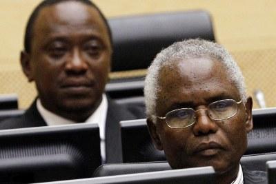 Uhuru Muigai Kenyatta et Francis Kirimi Muthaura