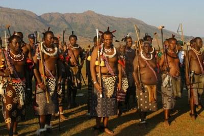 Sa Majesté le Roi Mswati III.