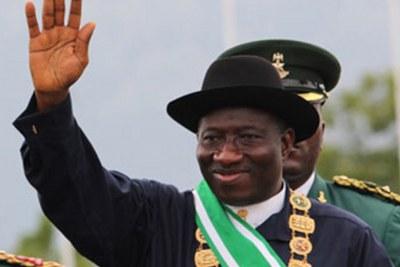 Président Goodluck Jonathan.