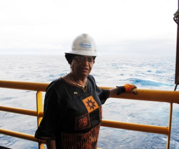 Oil Exploration Commences off Liberia's Coast