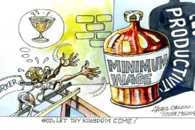 Minimum wage (file photo).
