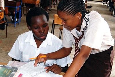 Une école pour jeunes filles.