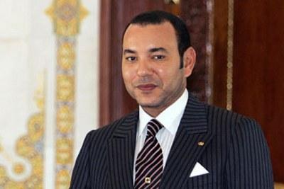 Roi Mohammed VI .