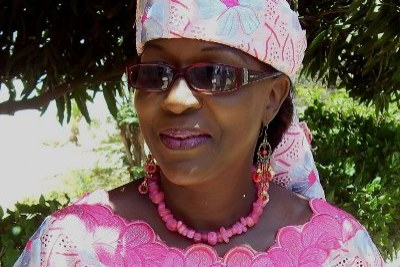 Amsatou Sow Sidibé leader du parti