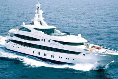 Teodorin, full name Teodoro Nguema Obiang Mangue, reportedly asked a German yacht builder to draw up the designs for the vessel.