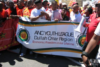 ANC Youth League members.