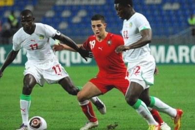 Sénégal contre Oman.