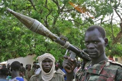 Un groupe armé au nord de la Centrafrique