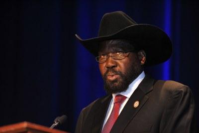 Salva Kiir Mayardit, président de la république du Sud-Soudan