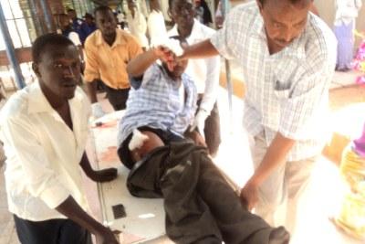 Garissa church attack (file photo).