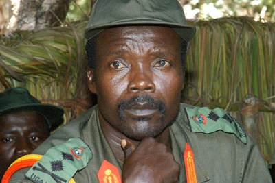 Lord's Resistance Army (LRA) chief, Joseph Kony (file photo).