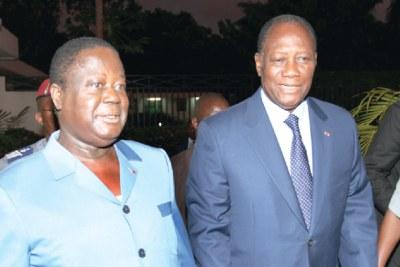 Rencontre Bédié-Ouattara
