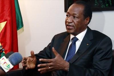 Blaise COMPAORE élu Médiateur dans la crise politico-militaire au Mali