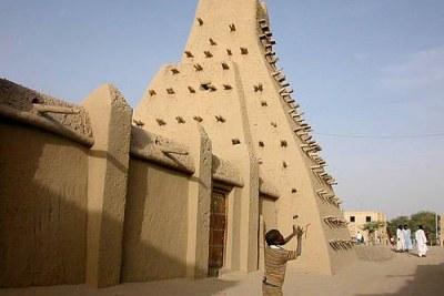 La mosquée Sankoré, à Tombouctou, au Mali