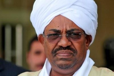 President Bashir of Sudan (file photo).