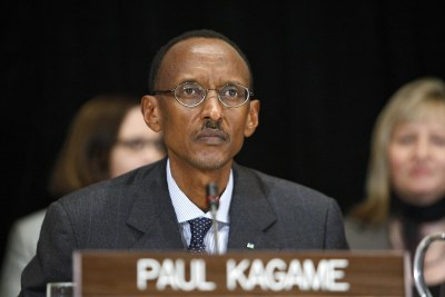 President Paul Kagame has assured the U.S. of his support in the transfer of Congolese rebel, Bosco Ntaganda, to the ICC (file photo).