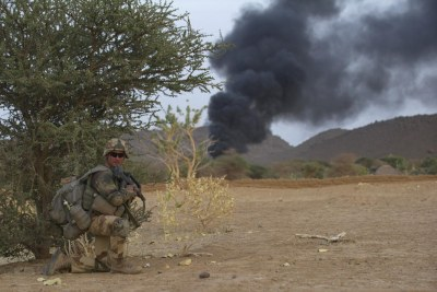 French operations in Mali (file photo).
