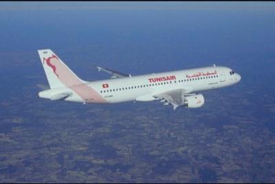 Un appareil de la compagnie aérienne Tunisair