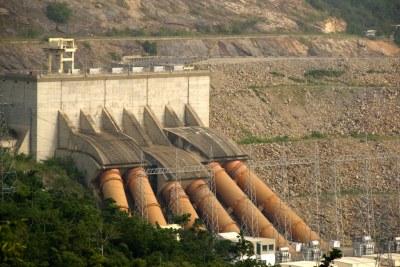 Hydropower plant.