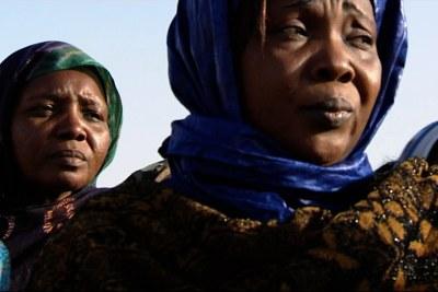 Victimes de l'ancien dictateur tchadien Hissène Habré.