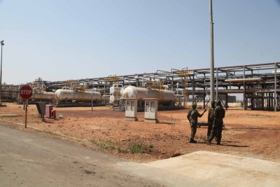 Oil field in South Sudan (file photo).