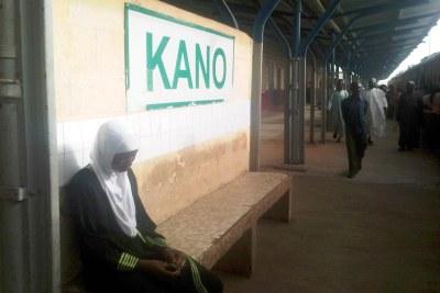 Station de train à Kano, Nigéria