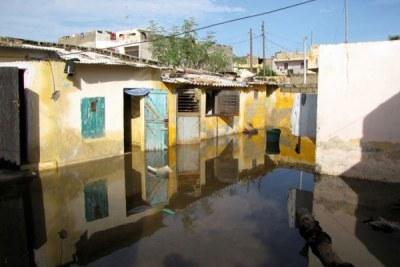 Inondation dans la banlieue dakaroise