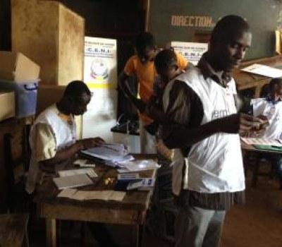 Legislatives en Guinee