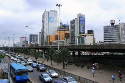 Lagos, Nigeria (file photo).