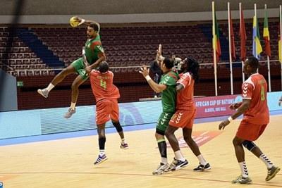 Le Maroc au championnat d'Afrique des nations de handball (CAN-2014)