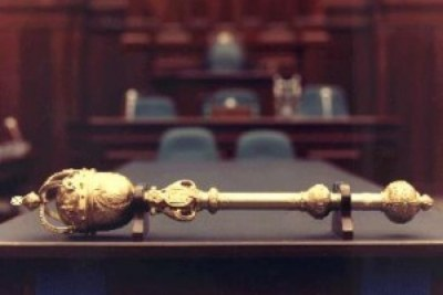Gold mace - National Assembly