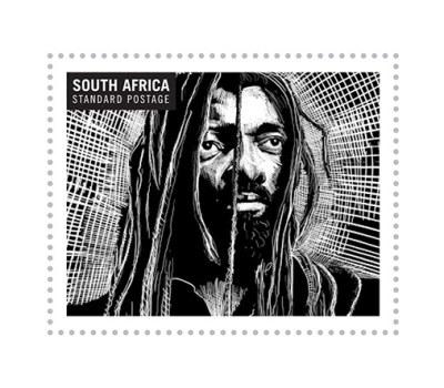 Timbres à l'effigie des légendes de musique sud-africaine