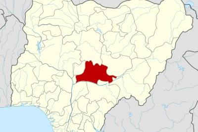 Nasarawa state map.
