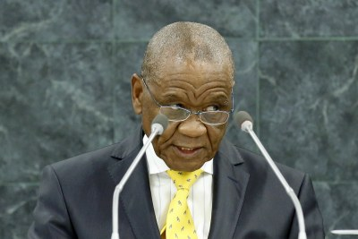 Prime Minister Thomas Thabane (file photo).