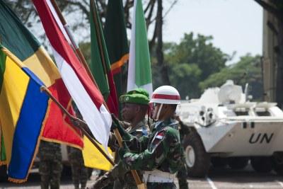 The UN forces